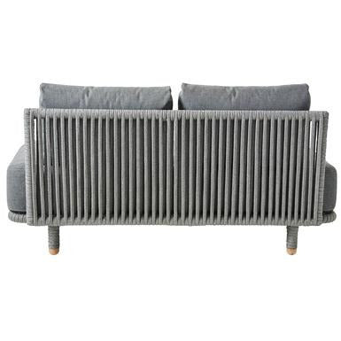Image of Cane Line Moments 2 Seater Sofa Single Module 7540ROG