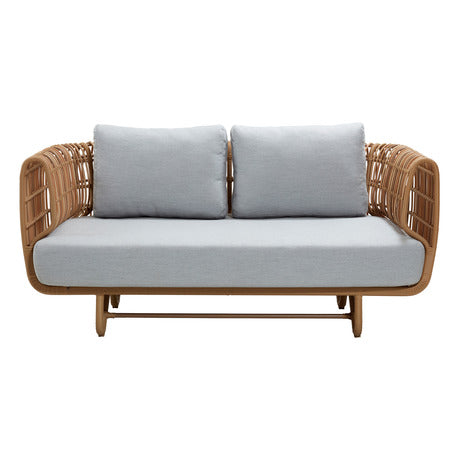 Image of Cane Line Nest Outdoor 2 Seater Sofa 57522USL