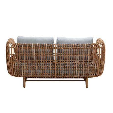 Image of Cane-line Nest Outdoor 2 Seater Sofa - 57522USL