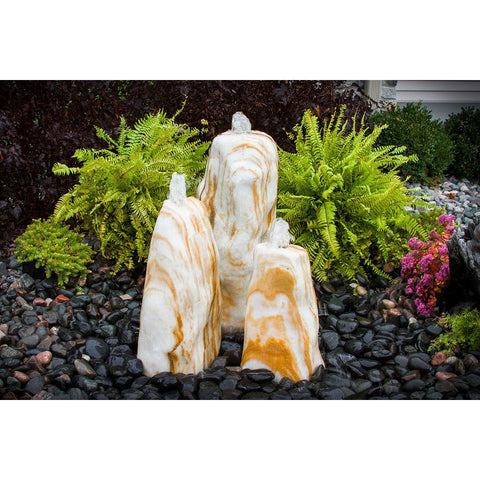 Blue Thumb Orange Cream Smooth Fountain ABART3800 - ProYardSupply