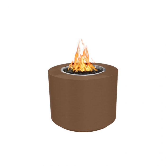 "The Outdoor Plus Beverly Fire Pit - Hammered Copper - Electronic Ignition 42"" OPT-42RRCPREKIT"