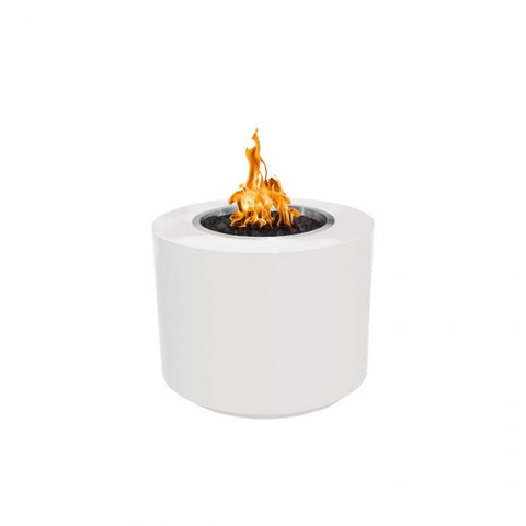 "Image of The Outdoor Plus Beverly Fire Pit - Powder Coated - Electronic Ignition 42"" OPT-42PCBEKIT"