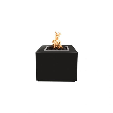 "Image of The Outdoor Plus Forma Fire Pit - Powder Coated - Electronic Ignition 36"" OPT-36PCSQEKIT"