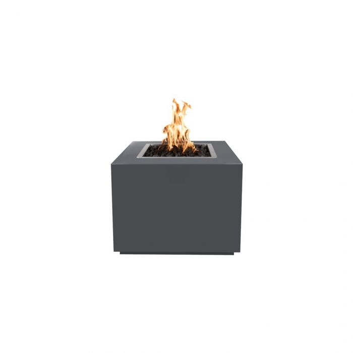 "The Outdoor Plus Forma Fire Pit - Powder Coated - Electronic Ignition 36"" OPT-36PCSQEKIT"