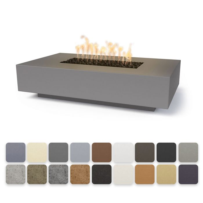 "The Outdoor Plus Cabo Linear Fire Pit - 66"" - Electronic Ignition OPT-CBLN66EKIT"