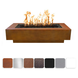 "The Outdoor Plus Coronado Fire Pit - Hammered Copper 84"" OPT-CORCPR84"