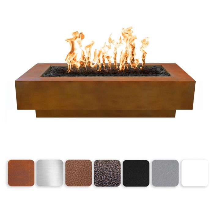 "The Outdoor Plus Coronado Fire Pit - Hammered Copper - Electronic Ignition 72"" OPT-CORCPR72EKIT"