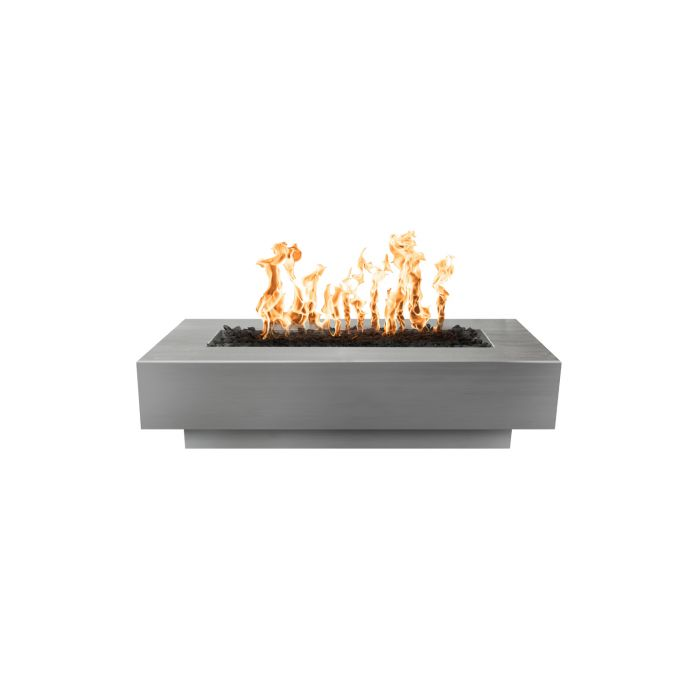 "The Outdoor Plus Coronado Fire Pit - Stainless Steel - Electronic Ignition 84"" OPT-CORSS84EKIT"