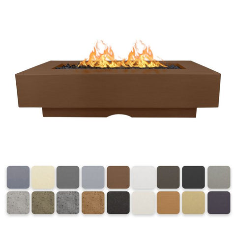 "The Outdoor Plus Del Mar 60"" Concrete Fire Pit OPT-DEL6028"