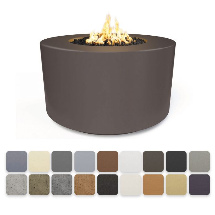 "The Outdoor Plus 42"" Florence Fire Table - 24"" Tall - Electronic Ignition OPT-FL4224EKIT"