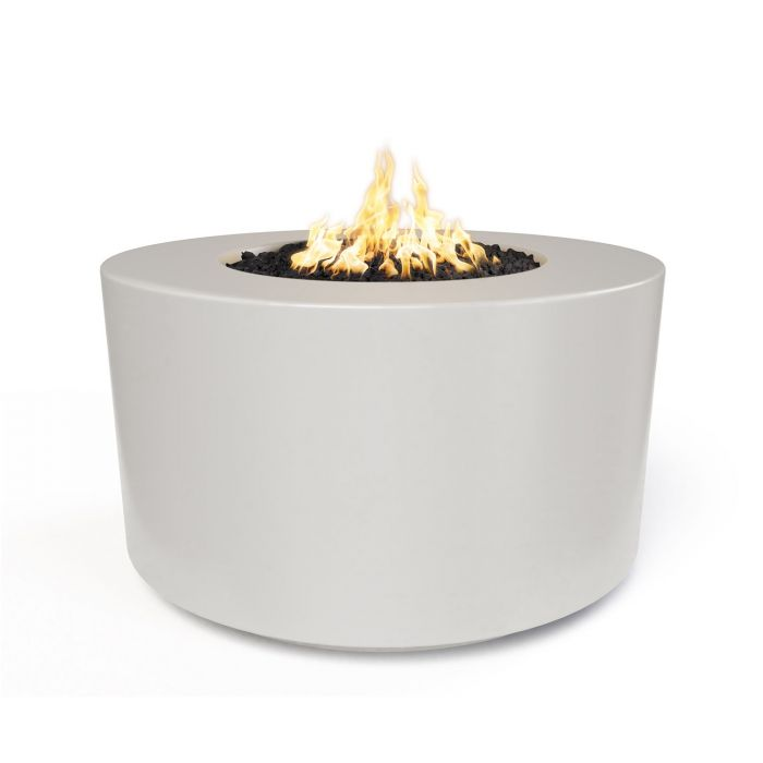 "The Outdoor Plus Florence Concrete Fire Pit - 42"" - Electronic Ignition OPT-FL42EKIT"