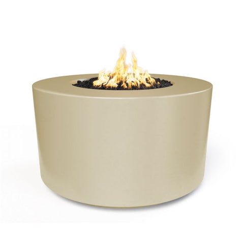 "Image of The Outdoor Plus Florence Concrete Fire Pit - 42"" - Electronic Ignition OPT-FL42EKIT"