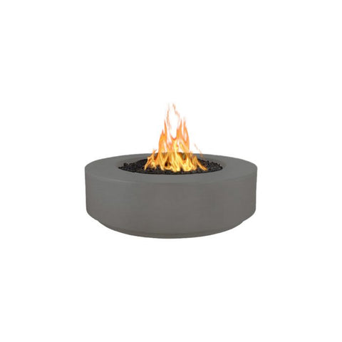 "Image of The Outdoor Plus Florence Concrete Fire Pit - 72"" - Electronic Ignition OPT-FL72EKIT"