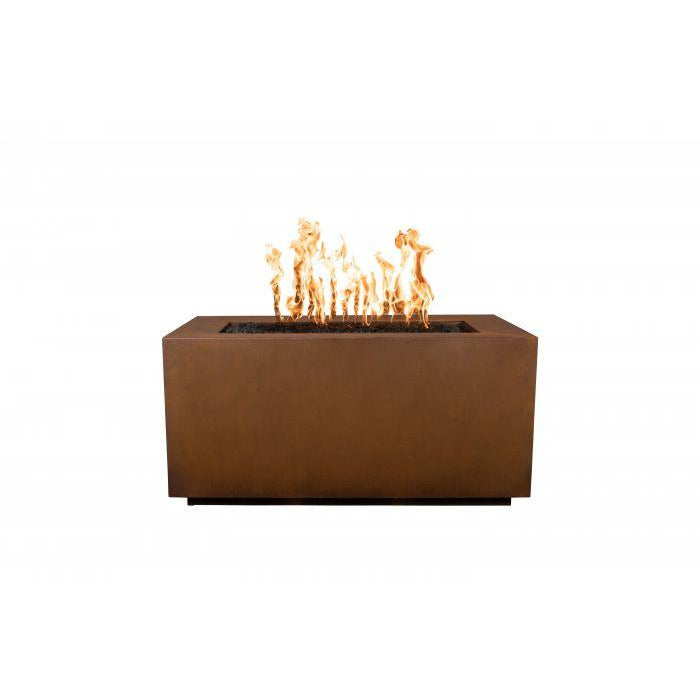 "The Outdoor Plus Pismo Fire Pit - Corten Steel - Electronic Ignition 72"" OPT-R7224CSEKIT"