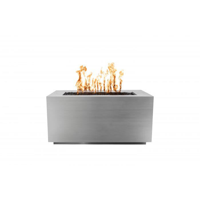 "The Outdoor Plus Pismo Fire Pit - Stainless Steel - Electronic Ignition 60"" OPT-R6024SSEKIT"