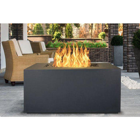 "Image of The Outdoor Plus Pismo Fire Pit - Corten Steel - Electronic Ignition 72"" OPT-R7224CSEKIT"