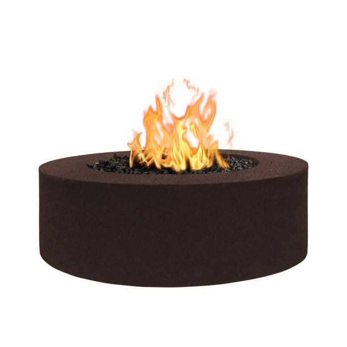 "The Outdoor Plus Unity Fire Pit - 24"" Tall - Powder Coat Steel - Electronic Ignition 60"" OPT-UNYPC60EKIT"