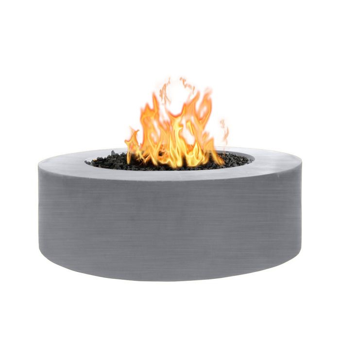 "The Outdoor Plus Unity Fire Pit - 24"" Tall - Stainless Steel 48"" OPT-UNYSS48"