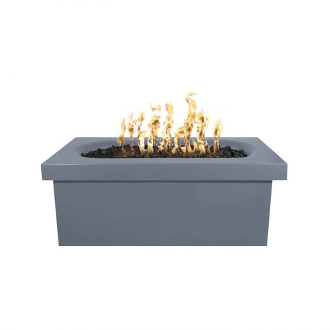 Image of The Outdoor Plus Ramona Concrete Fire Table - Rectangular - Electronic Ignition OPT-RMNRT60EKIT