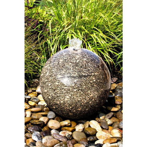 Image of Blue Thumb 24″ Peacock Green Sphere Fountain ABART4524 - ProYardSupply