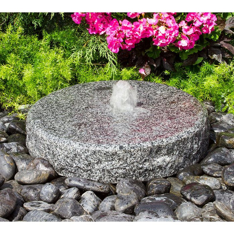 Blue Thumb Natural Round Fountain ABMGF40K - ProYardSupply