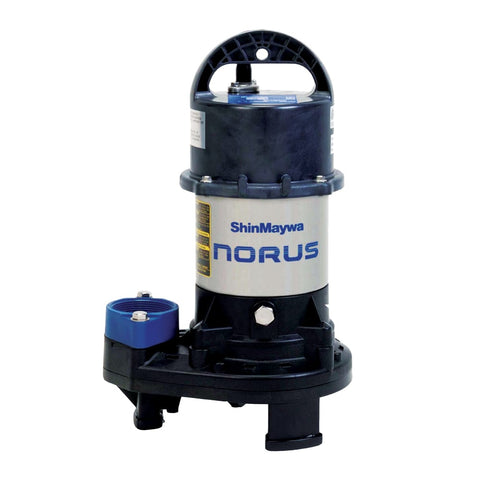 ShinMaywa Norus Stainless Steel Submersible 7020 GPH Pump 50CR2.75S