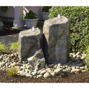 Blue Thumb Watershed Tall Double Fountain LA6175K - ProYardSupply
