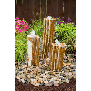 Blue Thumb Triple Grand Canyon Red Onyx Fountain Kit ABGCX100 - ProYardSupply