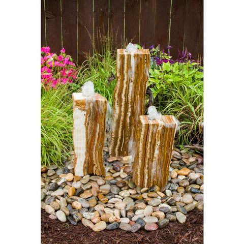 Image of Blue Thumb Triple Grand Canyon Red Onyx Fountain Kit ABGCX100 - ProYardSupply