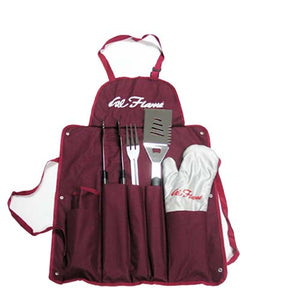 Cal Flame Utensil Set with Apron and Glove - BBQ11100082