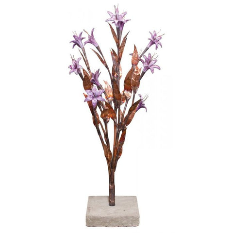Image of Blue Thumb Lilac Trumpet Flower- Complete Kit ABCF225K - ProYardSupply