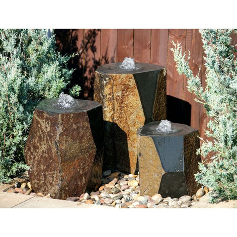 Blue Thumb Kazan Triple Fountain Kit ABZ150T - ProYardSupply