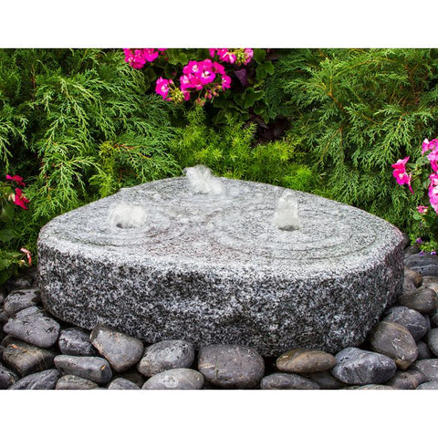 Image of Blue Thumb Triple Circle Fountain ABMGF20K - ProYardSupply