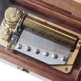 Customized 50 Note Wooden Music Box (Multiple Tunes Available)