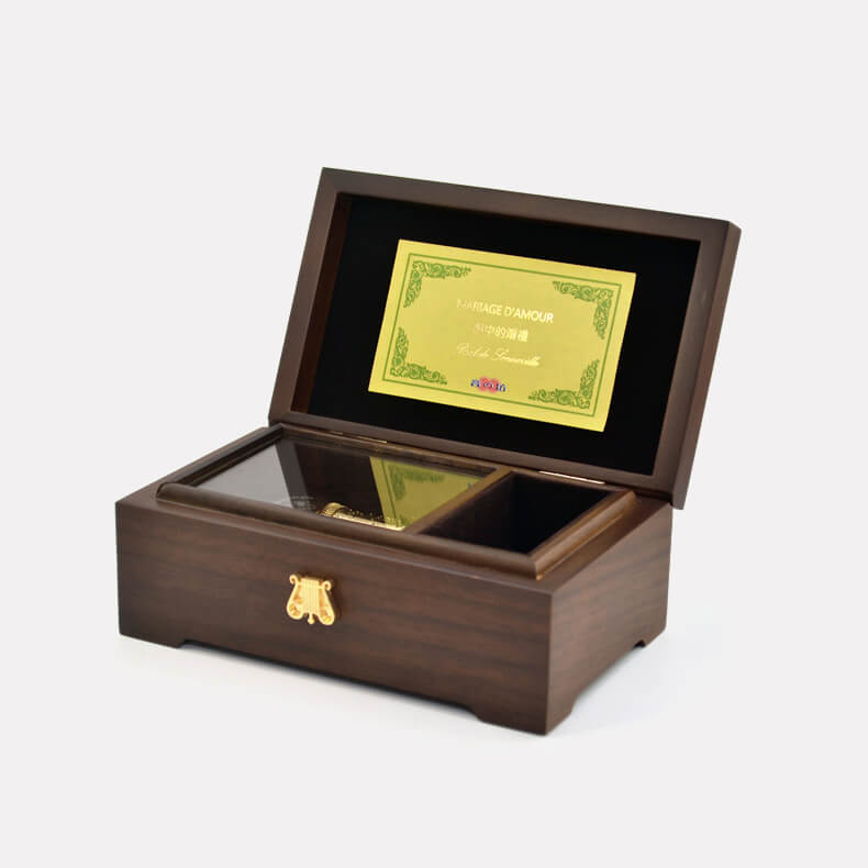 Stunning 30 Note Wooden Music Box (multiple songs available)