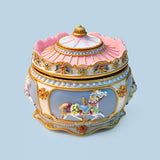 Beautiful Carousel Trinket Music Box with LED Lights