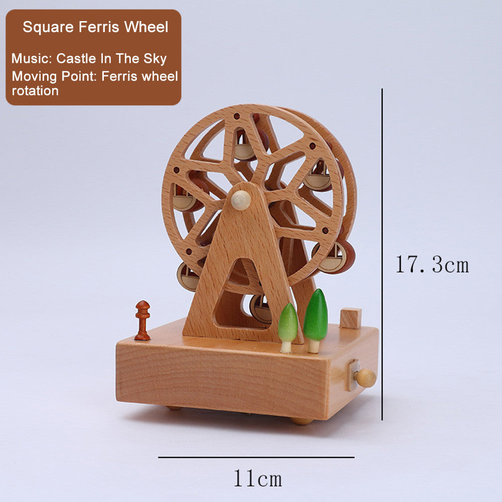 Premium Wooden Music Box for Birthday Present / Christmas Gift / Home Decoration