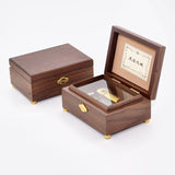 Customized 30 Note River Flows in You Wooden Music Box