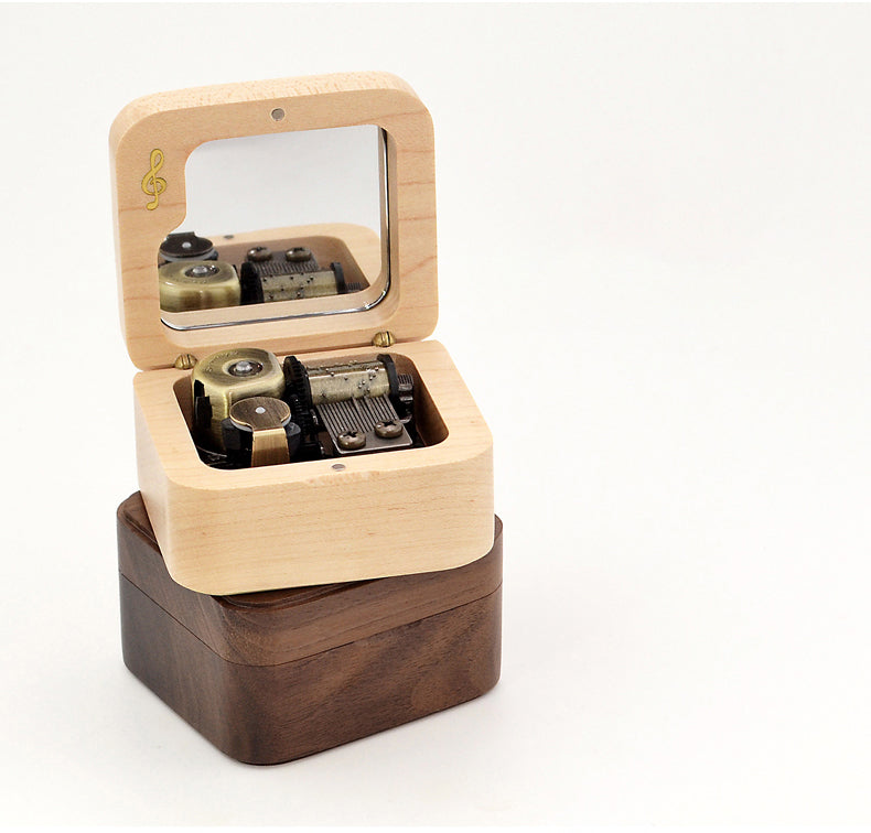 Premium Wooden Music Box with ON/OFF Feature ( BTS Tunes Collection )