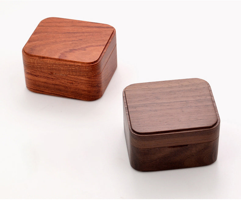Premium Wooden Music Box with ON/OFF Feature (30+ Popular Tunes Collection)