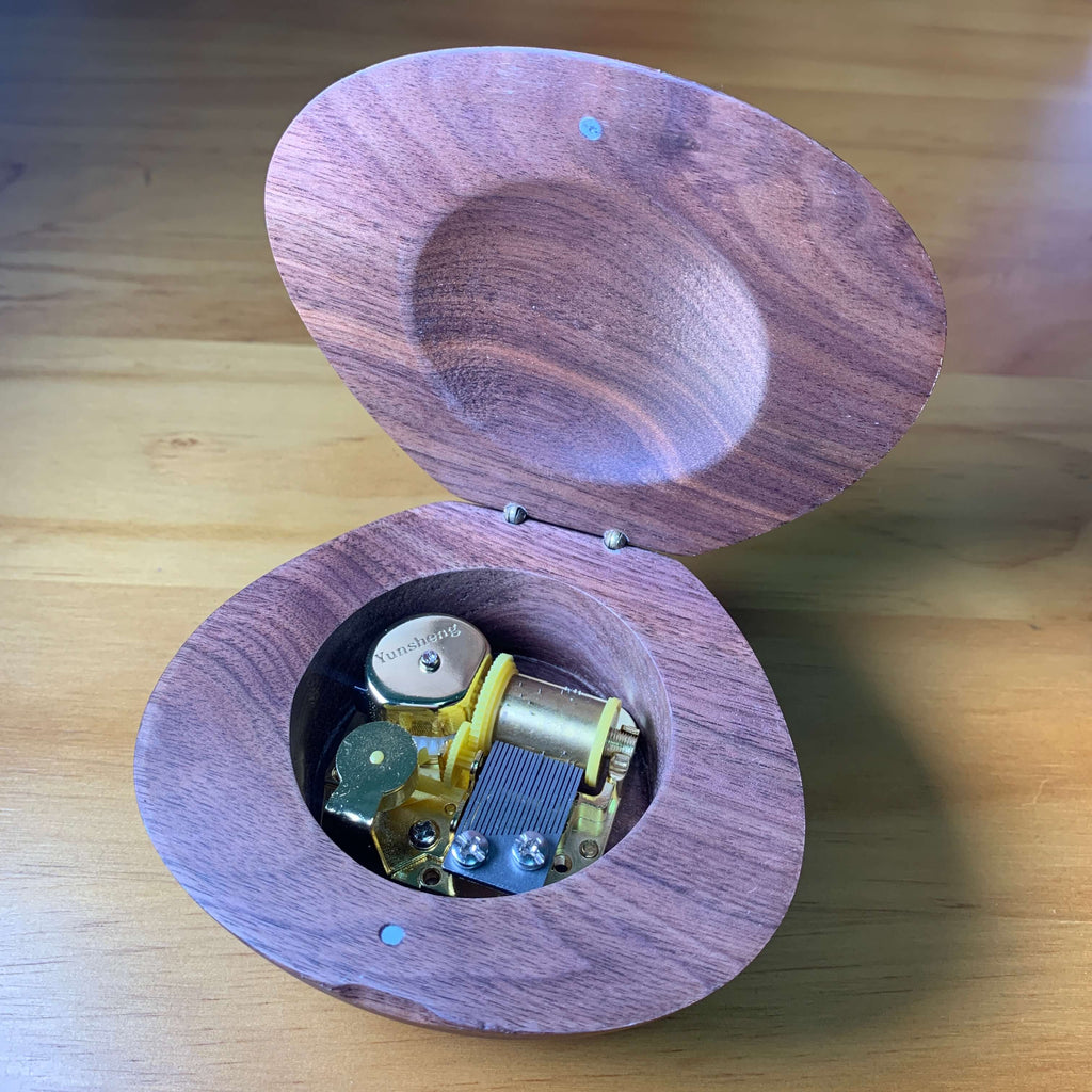 Customized 18 Note Legend of Zelda Wooden Music Box ( Tune: Song of Storms)