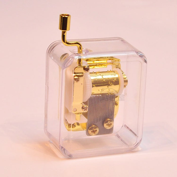 Cute Mini Hand Crank Music Box (Multiple Tunes Available)