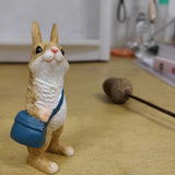 Adorable Rabbit Mini Figurine