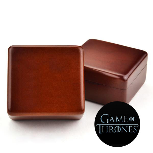 Premium Game of Thrones Wooden Music Box ( Tune: Game of Thrones Theme )
