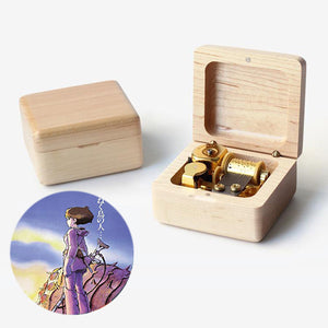 Premium Nausicaa of the Valley of the Wind Wooden Music Box (風の谷のナウシカ)