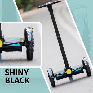 "10"" Solid Black Segway with Handle - RAFWORLD"