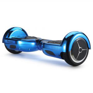 "6.5"" Chrome Blue Hoverboard - RAFWORLD"