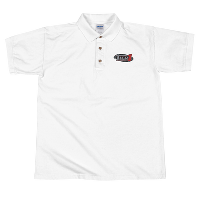 Tier1 Motorsports Embroidered Polo Shirt