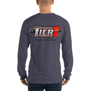 Tier1 Motorsports Long Sleeve T-Shirt (Unisex)