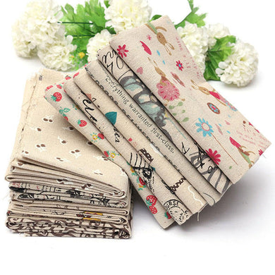 Cartoon Cotton Linen Fabric Cloth Patchwork For Table Bedding Curtain - 03